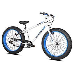 Takara Nubo 26-Inch x 4-Inch Men's Fat Tire Bicycle in White