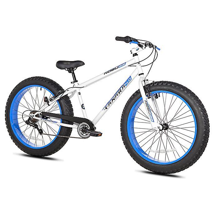 Alternate image 1 for Takara Nubo 26-Inch x 4-Inch Men's Fat Tire Bicycle in White