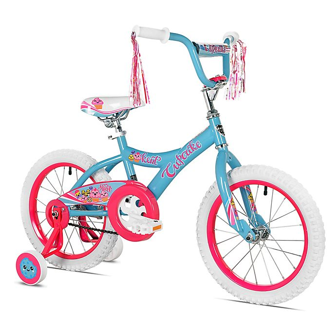 Alternate image 1 for Kent Cupcake 16-Inch Girl's Bicycle in Blue