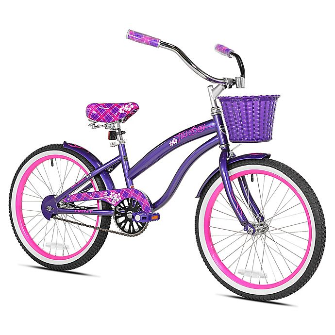 Alternate image 1 for Kent Tiki Bay 20-Inch Girl's Bicycle in Purple/Pink