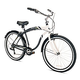Kent Oakwood 26-Inch Men's Cruiser Bicycle in White