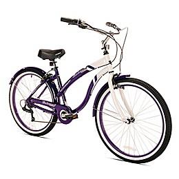 Kent Oakwood 26-Inch Ladies' Cruiser Bicycle in Purple