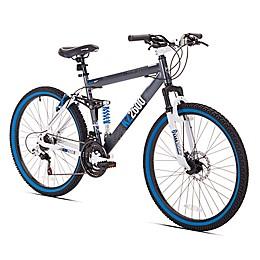 Thruster KZ2600 26-Inch Men's Mountain Bike in Charcoal Blue