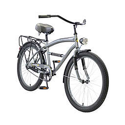 Body Glove Greystone 24-Inch Boy's Cruiser Bicycle in Grey