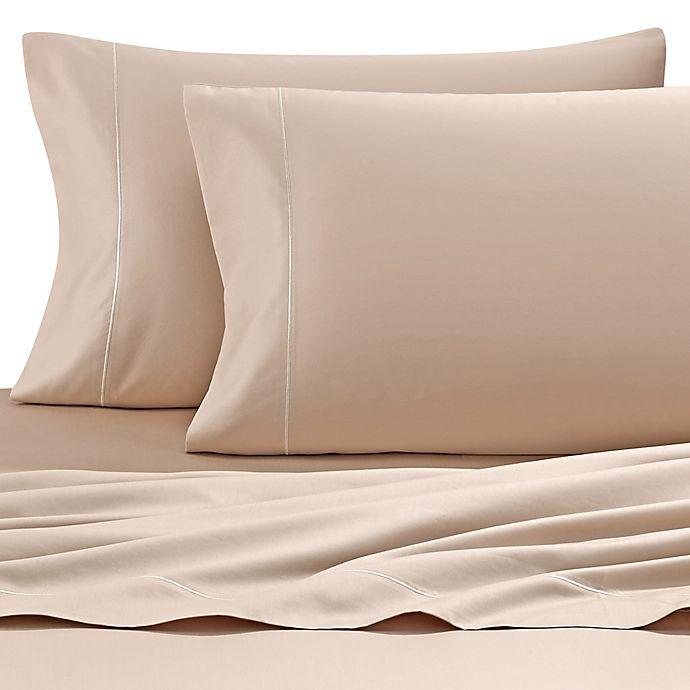 Alternate image 1 for Wamsutta® 500-Thread-Count PimaCott® Super King Sheet Set in Taupe