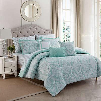 Hyde Damask 10-Piece Comforter Set