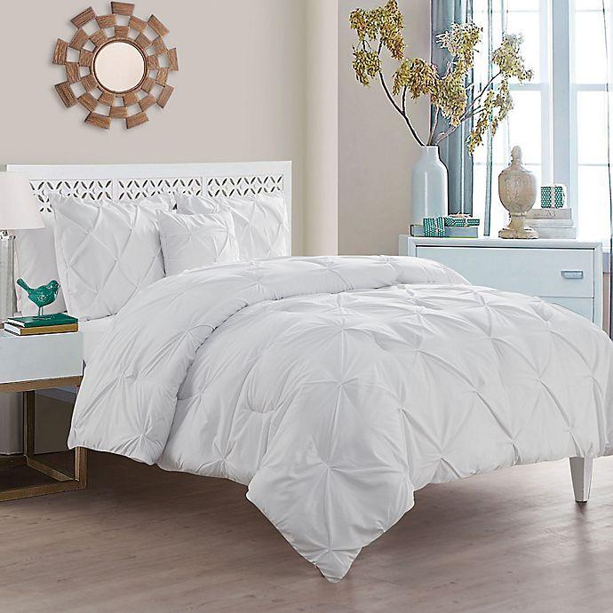 Alternate image 1 for VCNY Home Carmen Comforter Set in White