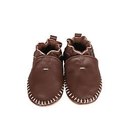 Robeez® Soft Soles Classic Moccasin in Brown