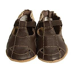 Robeez® Soft Soles™ Fisherman Sandal in Brown