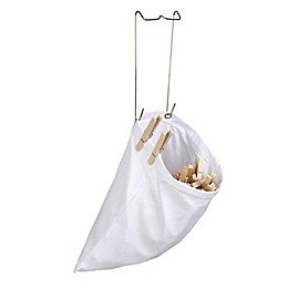 Honey-Can-Do® Hanging Cotton Clothespin Bag in White