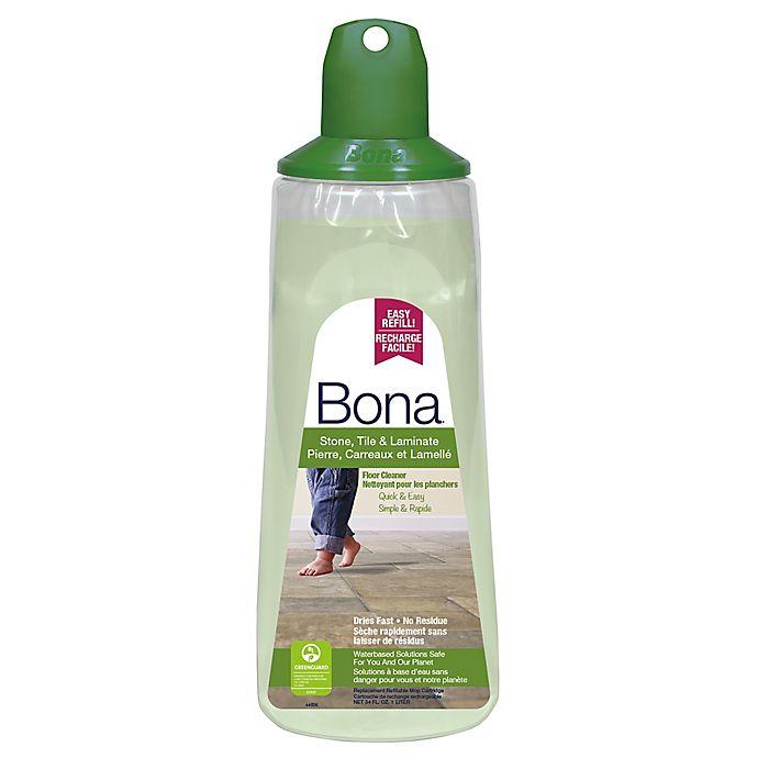 Alternate image 1 for Bona® 34 oz. Stone, Tile, and Laminate Floor Cleaner Cartridge