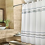 Croscill® Spa Tile 70-Inch W x 75-Inch L Fabric Shower Curtain