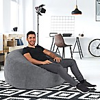 Big Round Lounger in Steel Grey