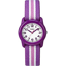 Timex® Time Machines Children's 29mm Watch with Purple/Pink Nylon Strap