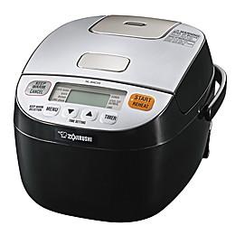 Zojirushi Micom 3-Cup Rice Cooker & Warmer in Silver/Black