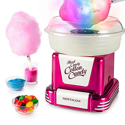 Nostalgia™ Electrics  Cotton Candy Bundle in Raspberry