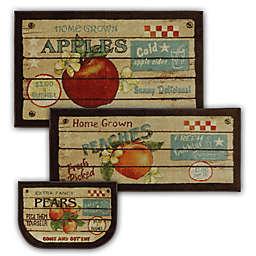 Mohawk Home Fruit Crate 3-Piece Multicolor Accent Rug Set