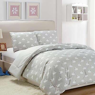 LaLa + Bash Chenia Reversible Comforter Set