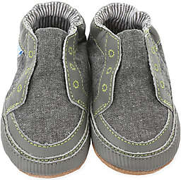 Robeez® Soft Soles™ Stylish Steve Shoe in Stone