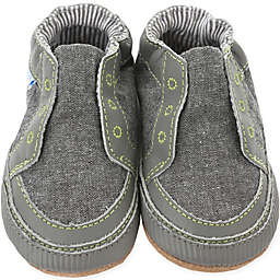 Robeez® Size 18-24M Soft Soles™ Stylish Steve Shoe in Stone