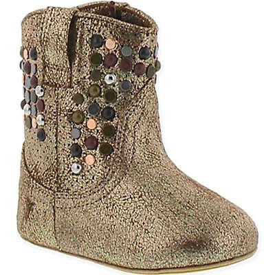 """Frye® """"Baby Deborah"""" Western Boot in Bronze"""