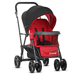 Joovy® Caboose Graphite Stand-On Tandem Stroller in Red