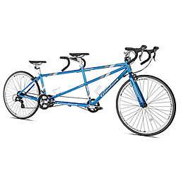 Giordano Viaggio Tandem Bike in Blue