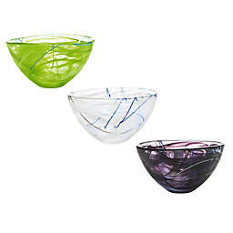 Kosta Boda Medium Contrast Bowl