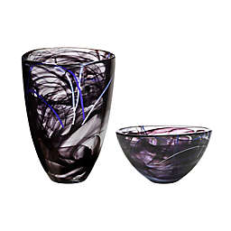 Kosta Boda Contrast by Anna Ehrner Collection in Black