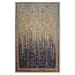 Karastan Wanderlust Reuss 5-Foot 3-Inch x 7-Foot 10-Inch Area Rug in Gold
