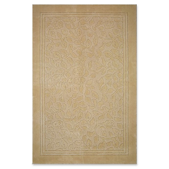 Alternate image 1 for Mohawk Home Wellington 5-Foot x 7-Foot Bath Rug in Sand