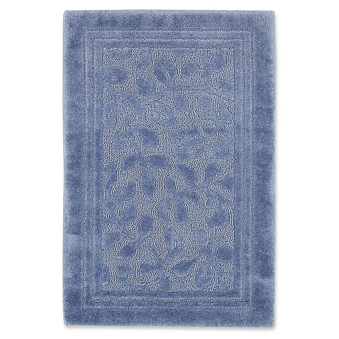 Alternate image 1 for Mohawk Home Wellington 5-Foot x 7-Foot Bath Rug in Blue