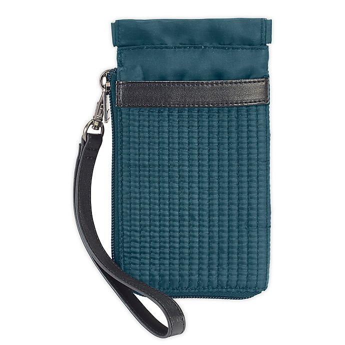 Alternate image 1 for Lewis N. Clark RFID Wristlet in Teal