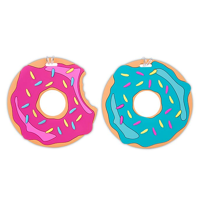 Alternate image 1 for Travelon Donut Luggage Tags (Set of 2)