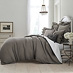 Wamsutta® Vintage Washed Linen Full/Queen Duvet Cover in Charcoal