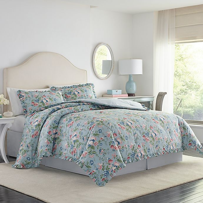 Laura Ashley Olivia Comforter Set Bed Bath Beyond