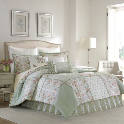 Laura Ashley 174 Harper Comforter Set Bed Bath Amp Beyond