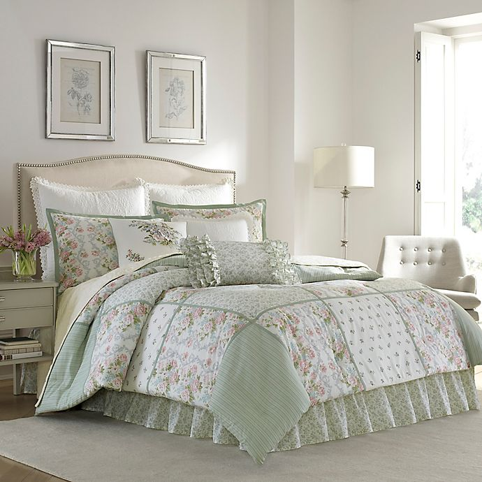 Alternate image 1 for Laura Ashley® Harper Comforter Set