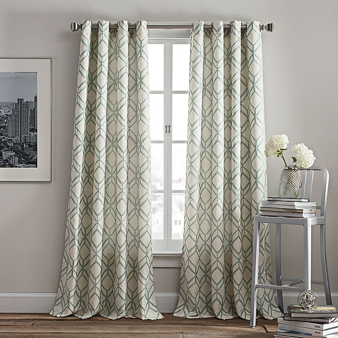 Rutherford Grommet Top Window Curtain Panel Bed Bath