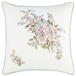 Laura Ashley® Harper Square Throw Pillow in Green