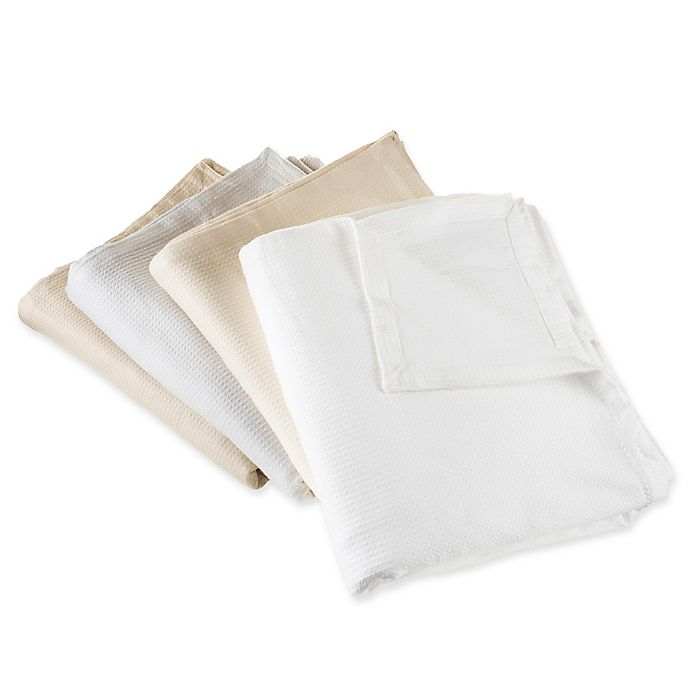 Alternate image 1 for Nottingham Home 100% Cotton Blanket