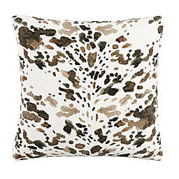 Skyline Square Throw Pillow in Natural