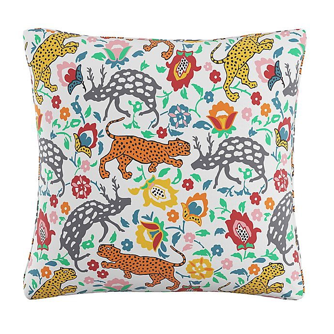 Alternate image 1 for Skyline Leopard Square Throw Pillow