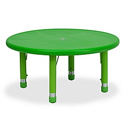 Flash Furniture 33-Inch Round Height Adjustable Activity Table