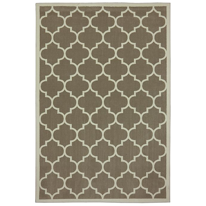 Alternate image 1 for Mohawk Home® Melina 5' x 8' Area Rug in Taupe