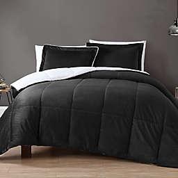 VCNY Home Micro Mink Sherpa Reversible Comforter Set