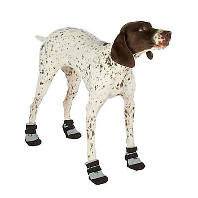 Ultra Paws Ultra Cool Dog Boots in Silver