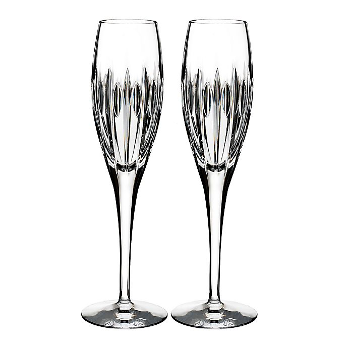 Alternate image 1 for Waterford® Mara Toasting Flutes (Set of 2)