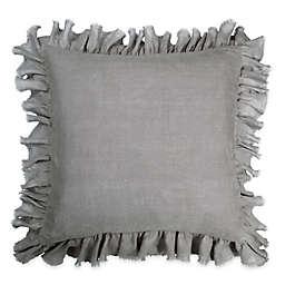 Wamsutta® Vintage Washed Linen European Pillow Sham in Charcoal