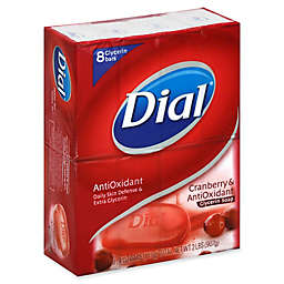 Dial® 8-Count 4 oz. Antioxidant Glycerin Bar Soap with Cranberry Extract